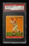 1933 World Wide Gum #37  Jimmy Wilson    Front Thumbnail