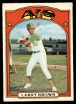 1972 O-Pee-Chee #279  Larry Brown  Front Thumbnail