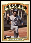 1972 O-Pee-Chee #390  Willie Davis  Front Thumbnail