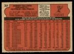 1972 O-Pee-Chee #364  Johnny Callison  Back Thumbnail