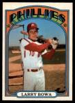1972 O-Pee-Chee #520  Larry Bowa  Front Thumbnail