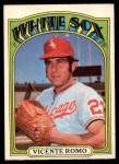 1972 O-Pee-Chee #499  Vicente Romo  Front Thumbnail