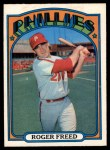 1972 O-Pee-Chee #69  Roger Freed  Front Thumbnail