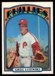 1972 O-Pee-Chee #112  Greg Luzinski  Front Thumbnail