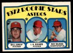 1972 O-Pee-Chee #101   -  J.R. Richard / Bill Grief / Ray Busse Astros Rookies   Front Thumbnail