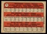 1972 O-Pee-Chee #14   -  Mike Anderson / Pete Koegel / Wayne Twitchell Phillies Rookies   Back Thumbnail