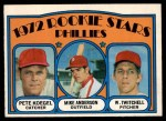 1972 O-Pee-Chee #14   -  Mike Anderson / Pete Koegel / Wayne Twitchell Phillies Rookies   Front Thumbnail