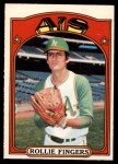 1972 O-Pee-Chee #241  Rollie Fingers  Front Thumbnail