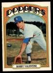 1972 O-Pee-Chee #11  Bobby Valentine  Front Thumbnail