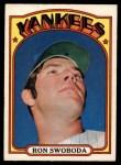 1972 O-Pee-Chee #8  Ron Swoboda  Front Thumbnail