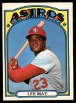 1972 O-Pee-Chee #480  Lee May  Front Thumbnail