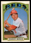 1972 O-Pee-Chee #433  Johnny Bench  Front Thumbnail