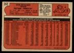 1972 O-Pee-Chee #242  Don Mincher  Back Thumbnail