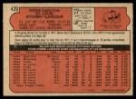 1972 O-Pee-Chee #420  Steve Carlton  Back Thumbnail