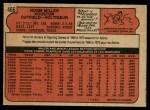 1972 O-Pee-Chee #466  Norm Miller  Back Thumbnail