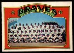 1972 O-Pee-Chee #21   Braves Team Front Thumbnail