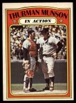 1972 O-Pee-Chee #442   -  Thurman Munson In Action Front Thumbnail