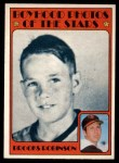 1972 O-Pee-Chee #498   -  Brooks Robinson Boyhood Photo Front Thumbnail