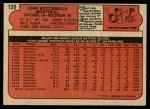 1972 O-Pee-Chee #159  John Boccabella  Back Thumbnail