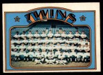 1972 O-Pee-Chee #156   Twins Team Front Thumbnail