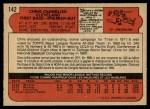 1972 O-Pee-Chee #142  Chris Chambliss  Back Thumbnail