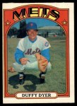 1972 O-Pee-Chee #127  Duffy Dyer  Front Thumbnail