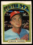 1972 O-Pee-Chee #98  Chuck Tanner  Front Thumbnail