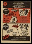1972 O-Pee-Chee #44   -  Rick Wise In Action Back Thumbnail