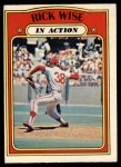 1972 O-Pee-Chee #44   -  Rick Wise In Action Front Thumbnail