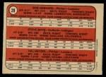 1972 O-Pee-Chee #28   -  Steve Brye / Bob Gebhard / Hal Haydel Twins Rookies  Back Thumbnail