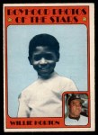 1972 O-Pee-Chee #494   -  Willie Horton Boyhood Photo Front Thumbnail