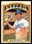 1972 O-Pee-Chee #437  Maury Wills  Front Thumbnail