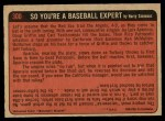 1972 O-Pee-Chee #300   -  Hank Aaron In Action Back Thumbnail