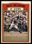1972 O-Pee-Chee #164   -  Tug McGraw In Action Front Thumbnail