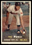 1957 Topps #167  Vic Power  Front Thumbnail