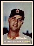 1957 Topps #203  Hoyt Wilhelm  Front Thumbnail