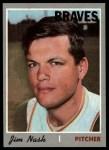 1970 Topps #171  Jim Nash  Front Thumbnail