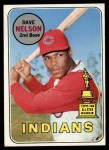 1969 Topps #579  Dave Nelson  Front Thumbnail