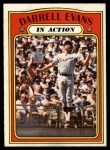 1972 O-Pee-Chee #172   -  Darrell Evans In Action Front Thumbnail