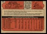 1972 O-Pee-Chee #127  Duffy Dyer  Back Thumbnail