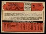 1972 O-Pee-Chee #58  Ernie McAnally  Back Thumbnail