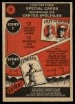 1972 O-Pee-Chee #52   -  Harmon Killebrew In Action Back Thumbnail