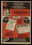1972 O-Pee-Chee #46   -  Glenn Beckert In Action Back Thumbnail