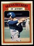 1972 O-Pee-Chee #46   -  Glenn Beckert In Action Front Thumbnail