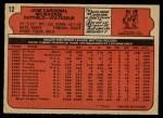 1972 O-Pee-Chee #12  Jose Cardenal  Back Thumbnail