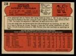 1972 O-Pee-Chee #238  Leron Lee  Back Thumbnail