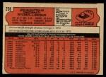 1972 O-Pee-Chee #236  Jim McGlothlin  Back Thumbnail