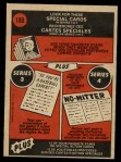 1972 O-Pee-Chee #180   -  Dock Ellis In Action Back Thumbnail