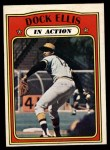 1972 O-Pee-Chee #180   -  Dock Ellis In Action Front Thumbnail
