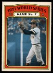 1972 O-Pee-Chee #229   -  Steve Blass 1971 World Series - Game #7 Front Thumbnail